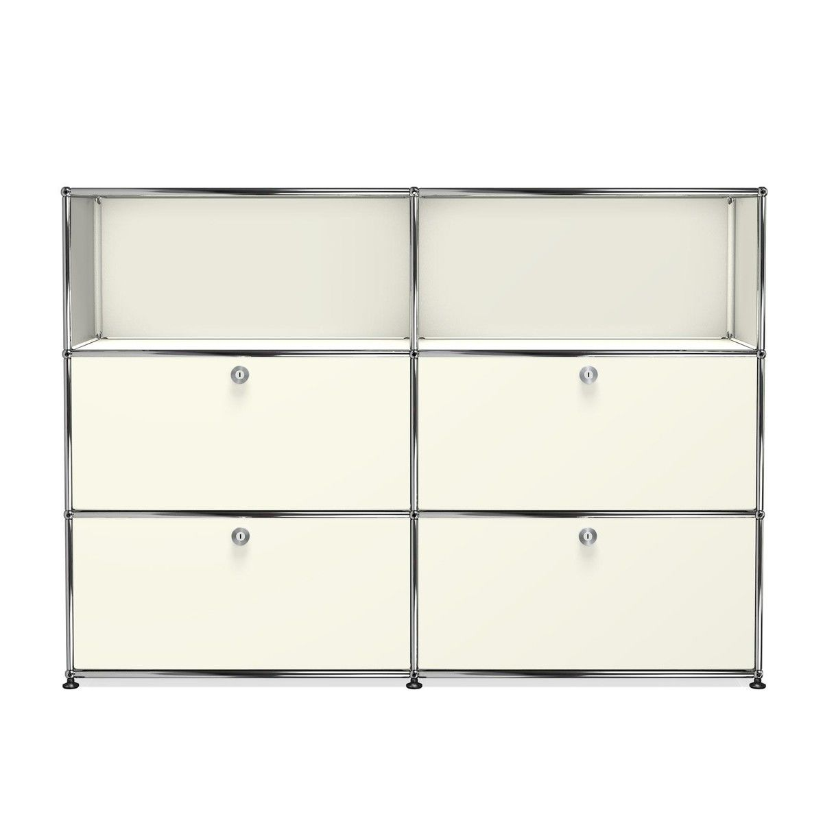usm highboard mit 4 klappt ren usm haller. Black Bedroom Furniture Sets. Home Design Ideas