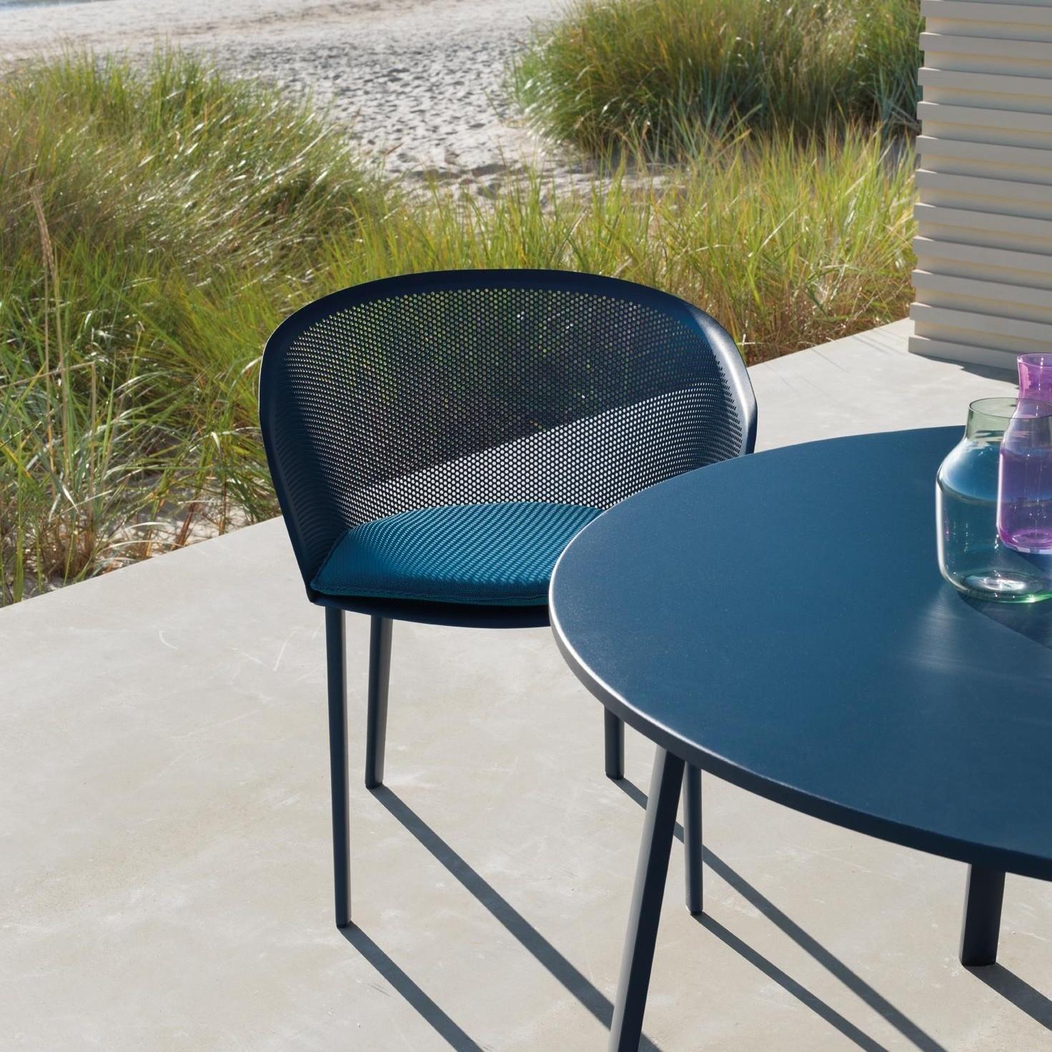 Kettal Stampa - Chaise de jardin avec accoudoirs | AmbienteDirect