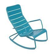 Fermob - Luxembourg Rocking Chair  - turquoise/lacquered