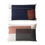 ferm LIVING - Colour Block 1 Kissen 60x40cm