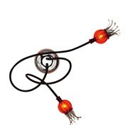 Serien - Poppy 2  Wall Lamp / Ceiling Lamp