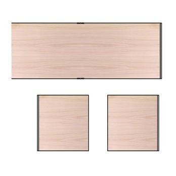 HAY - New Order Paneel-Set 3tlg. für 200cm Breite - esche/2 Seitenwände/1 Rückwand/195x33cm