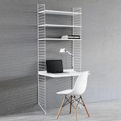 String - String Office Regal - weiß