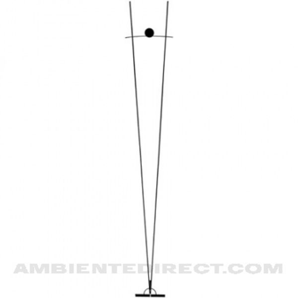 ilios vloerlamp ingo maurer. Black Bedroom Furniture Sets. Home Design Ideas