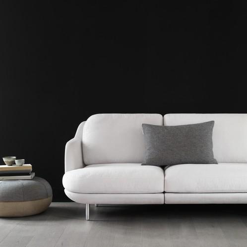 Fritz Hansen - Lune 2-Sitzer Sofa 155 x 93.5 cm