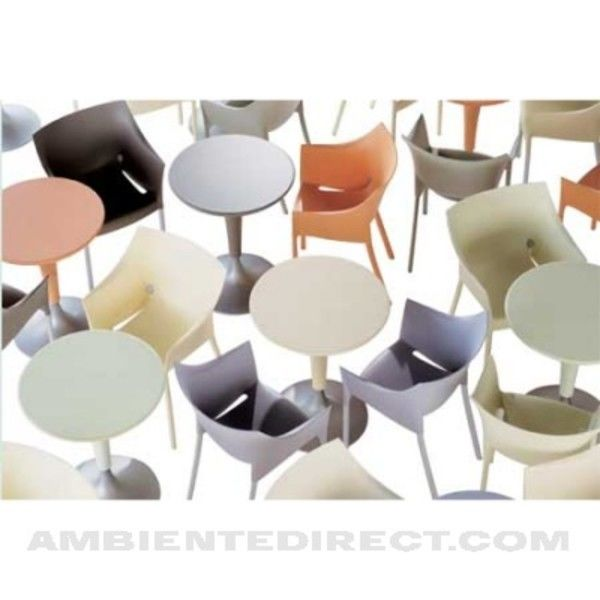 dr no stuhl 4er set gleiche farbe kartell. Black Bedroom Furniture Sets. Home Design Ideas