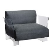 Kartell - Pop Armchair Frame Transparent