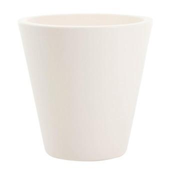 Serralunga - New Pot Vase Ø 40cm - white/matt