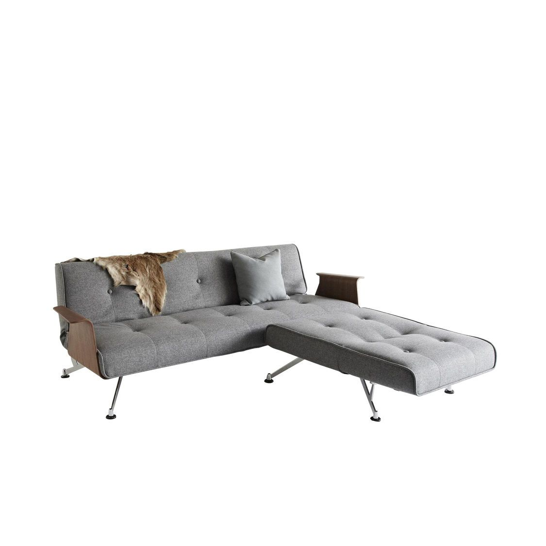 Clubber 03 Sofa Bed With Armrests Innovation
