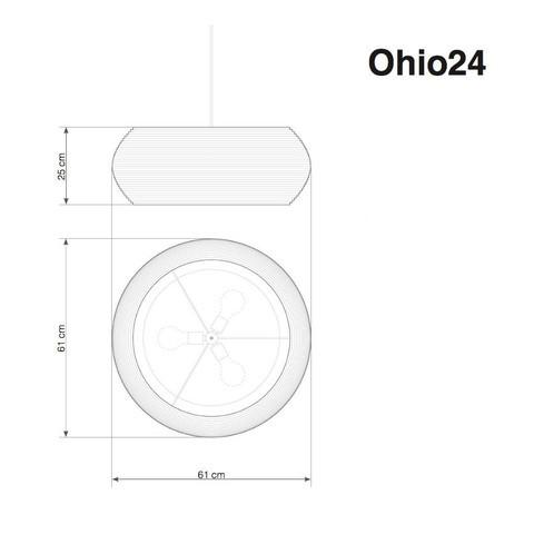 graypants - Ohio Pendelleuchte - Strichzeichnung
