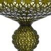 Kartell - Kabuki LED Stehleuchte H:165cm - grün/transparent/mit Dimmer