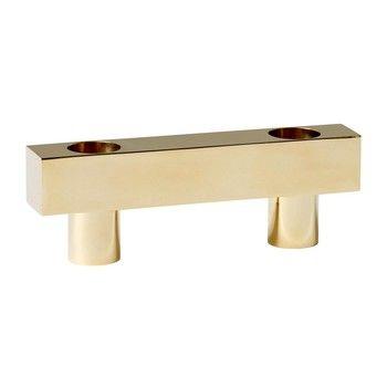 AndTradition - 721 Grams Kerzenständer - messing/glänzend/LxBxH 14x2,8x4,8cm/1 Stück