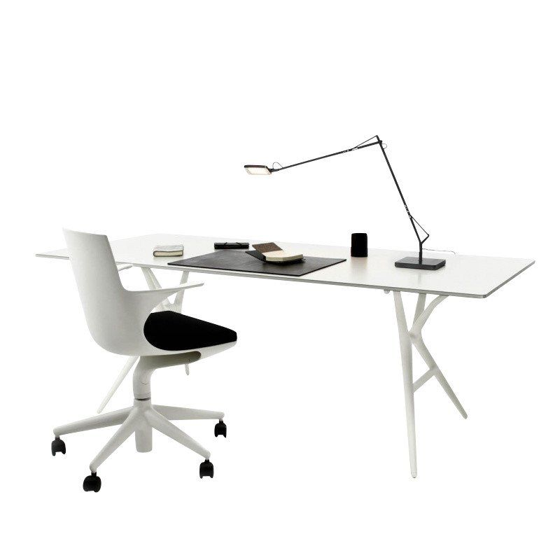 AmbienteDirect   Small Office   Future   Spoon Table + Spoon Chair/Table ...