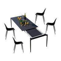 Weishäupl - Marguerite Gartenset 4 Stühle