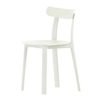 Vitra - All Plastic Chair Stuhl - weiß - two tone/für Innen- und Außenbereich geeignet