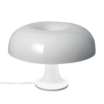 Artemide - Nessino Tischleuchte - weiß/durchgefärbt/H:22,3 x Ø32 cm