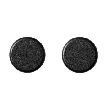 Menu - Menu Knobs Haken Set 2tlg. - schwarz/pulverbeschichtet/Ø 4cm, T: 2cm