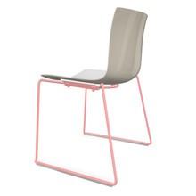 Arper - Catifa 46 0278 Stuhl zweifarbig Kufe farbig