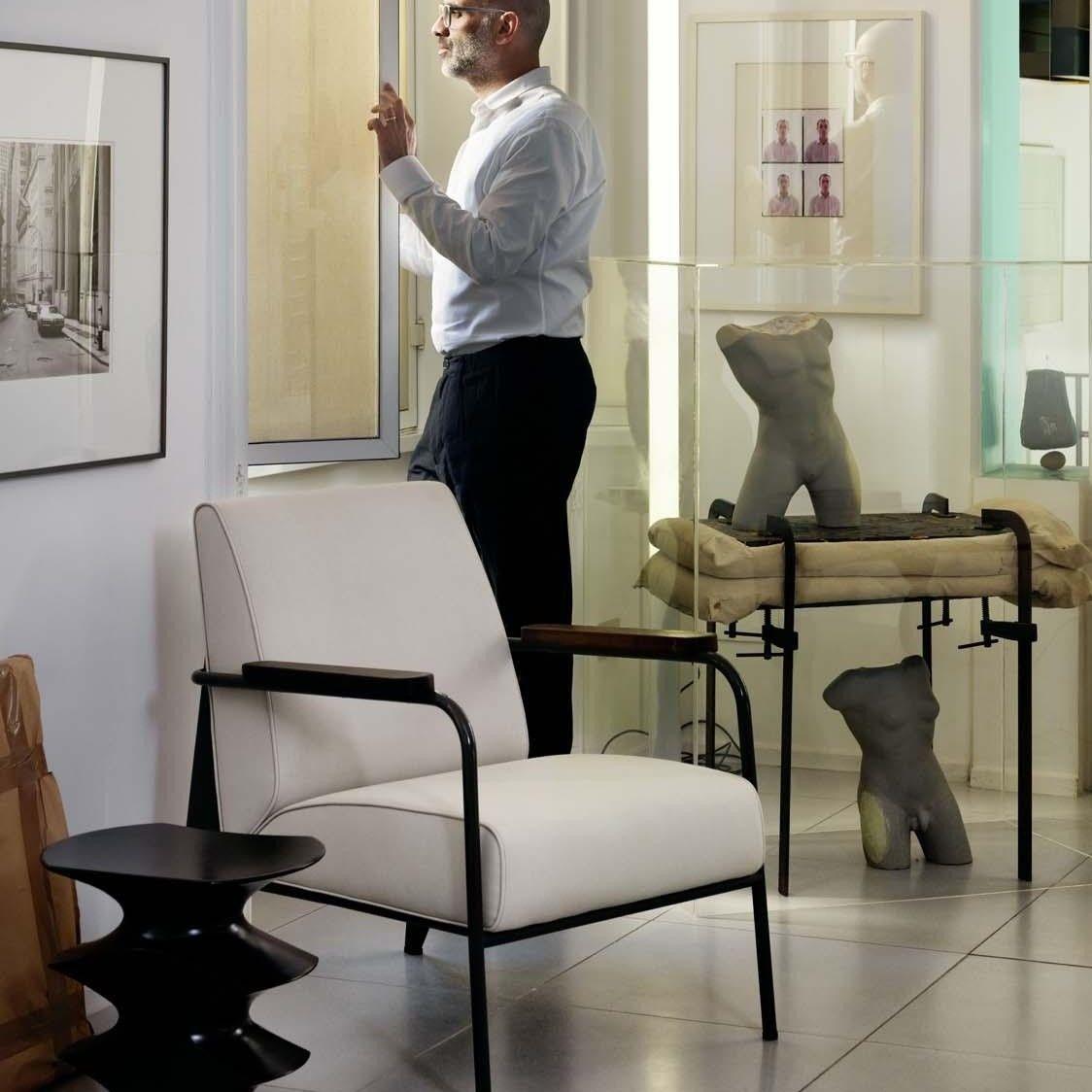 fauteuil de salon prouv armchair vitra. Black Bedroom Furniture Sets. Home Design Ideas
