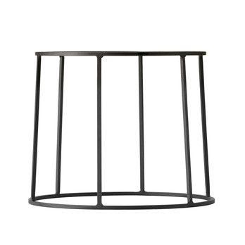 Menu - Wire Base 202 Gestell 20cm - schwarz/pulverbeschichtet/H 20cm, Ø 23cm