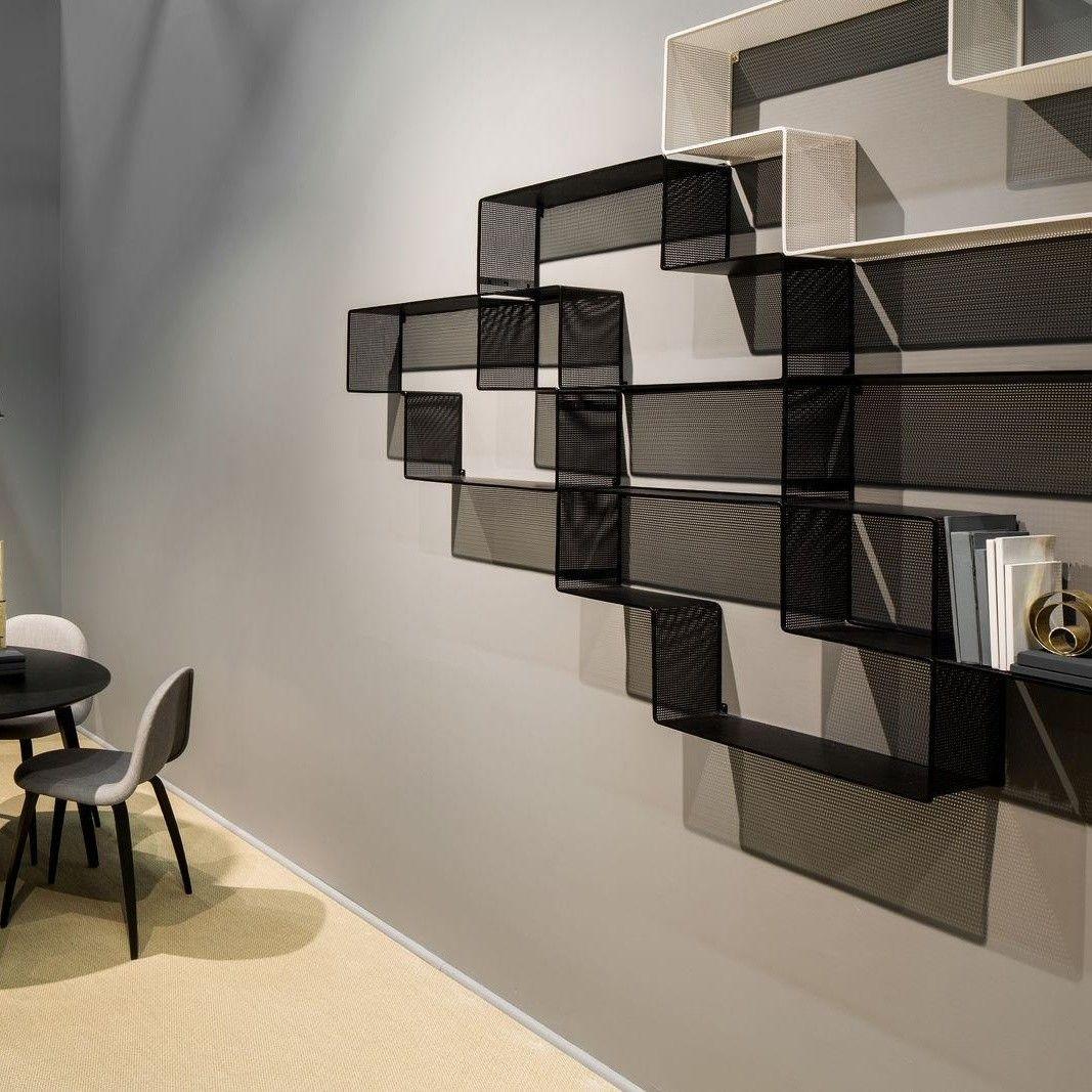 gubi dedal stahl b cherregal gubi. Black Bedroom Furniture Sets. Home Design Ideas