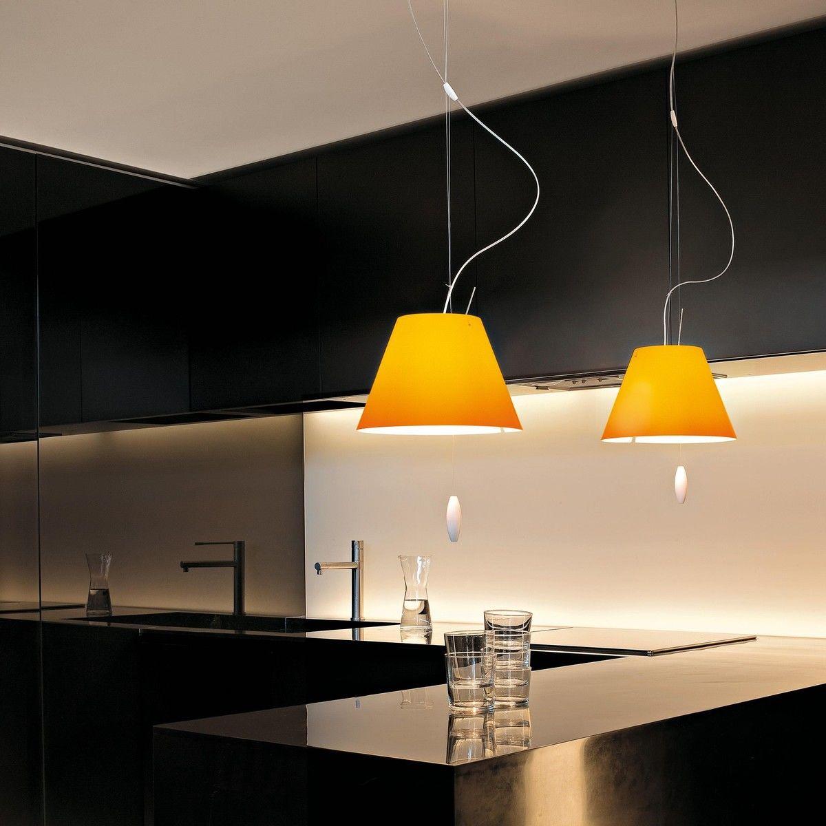 costanzina pendelleuchte mit zugseil luceplan. Black Bedroom Furniture Sets. Home Design Ideas
