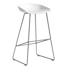 HAY - About a Stool AAS 38 Bar Stool High Stainless Steel Base