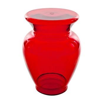 Kartell - La Bohème 3 - Tabouret / Table d'Appoint - rouge