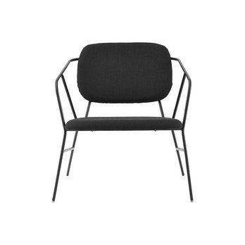 House Doctor - House Doctor Lounge Sessel - schwarz/70x70 cm/H: 75 cm
