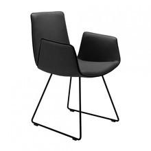 Freifrau - Chaise avec accoudoirs Amelie structure luge