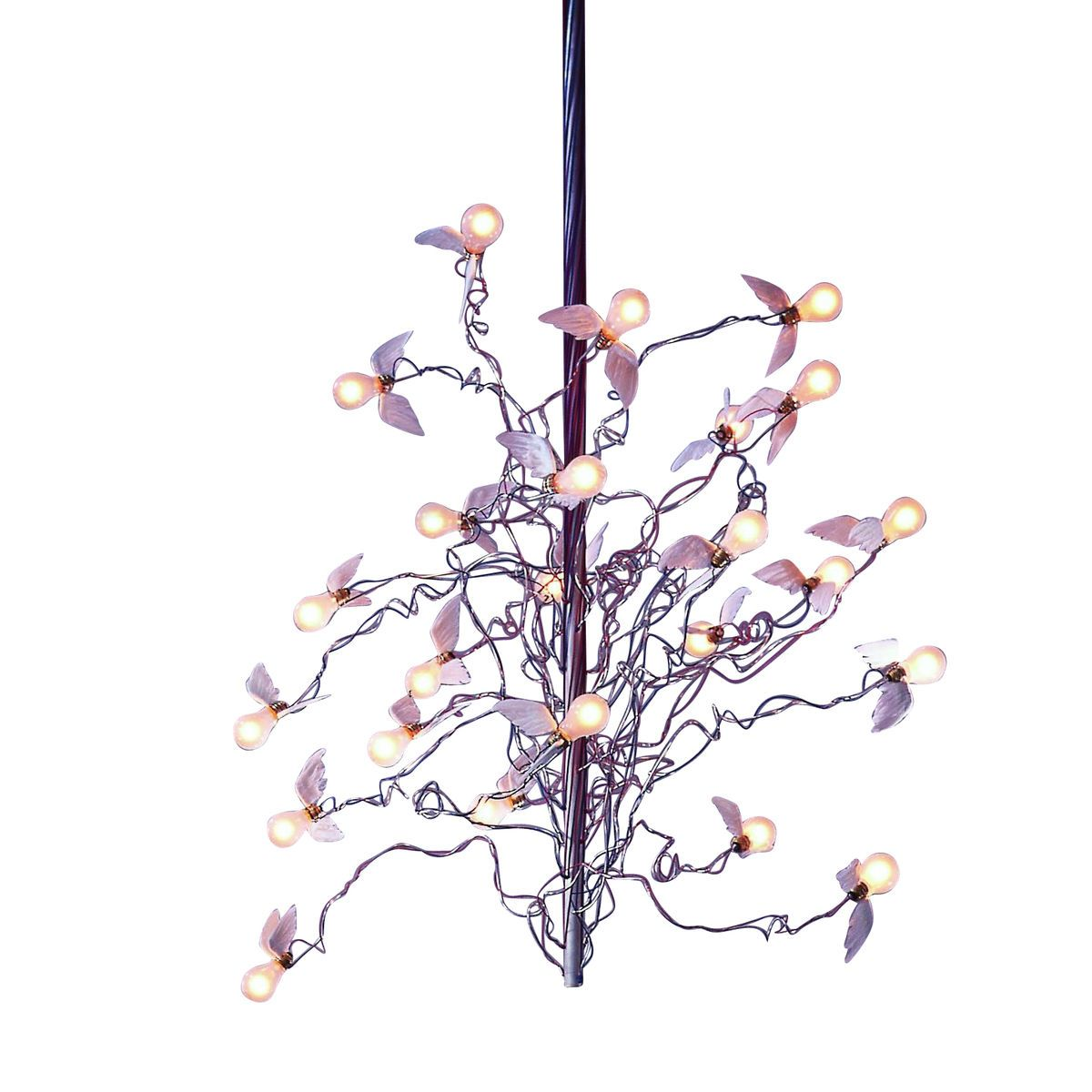 birds birds birds chandelier ingo maurer. Black Bedroom Furniture Sets. Home Design Ideas
