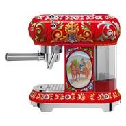 Smeg - Limited Edition D&G ECF01 Espressomaschine mit Siebträger