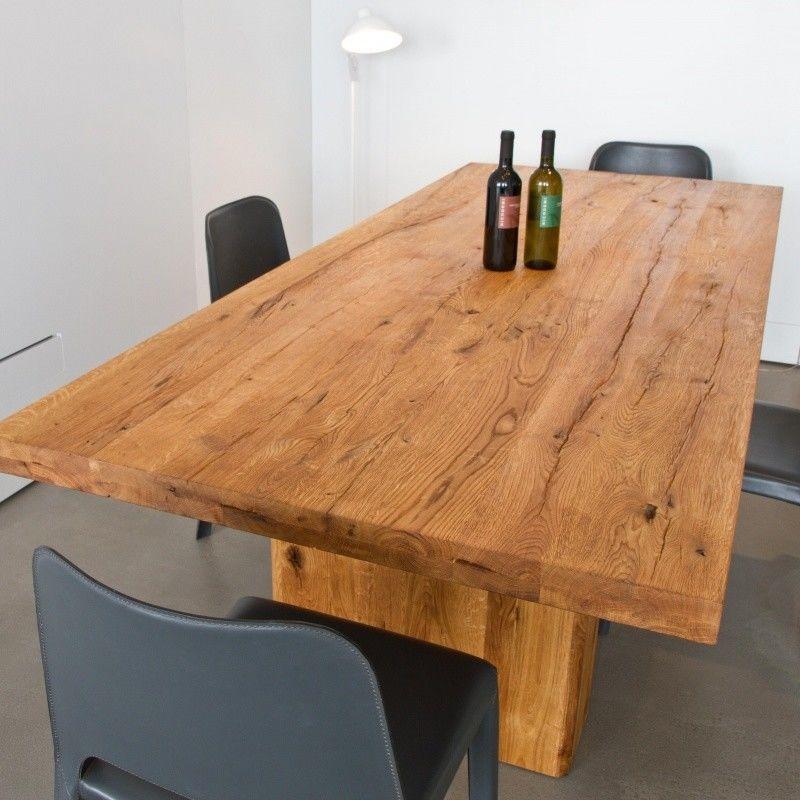 Ozelot mesa de comedor de madera maciza adwood - Mesa madera maciza comedor ...