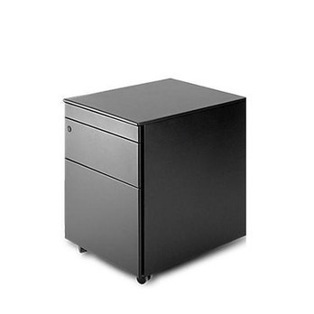 la palma - Cassettiera C1 Office Container - black/42x60x54cm