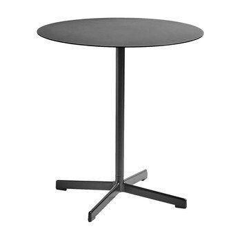 HAY - Neu Tisch rund Ø70cm - kohlenschwarz/H 74cm/für Innen- und Außerbereich geeignet