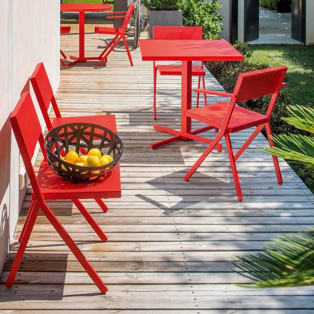 Emu Mia Outdoor Bistro Table Square Ambientedirect