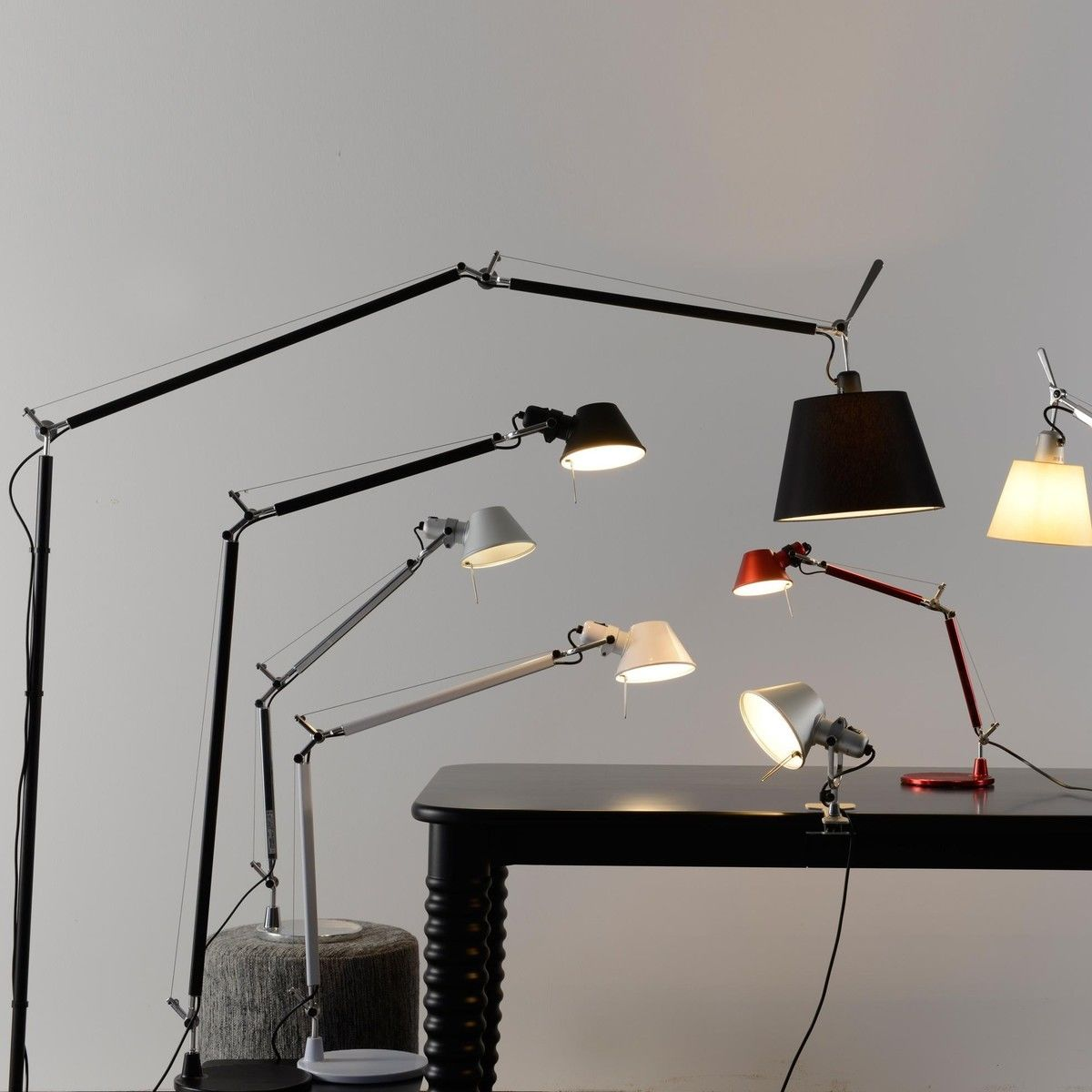 tolomeo terra e27 stehleuchte artemide. Black Bedroom Furniture Sets. Home Design Ideas