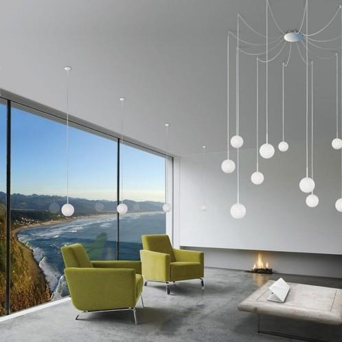 Lumen Center Italia - Ice Globe Micro S Pendelleuchte