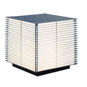 Metalarte - Dojo GR Aussenleuchte - aluminium/matt/55cm