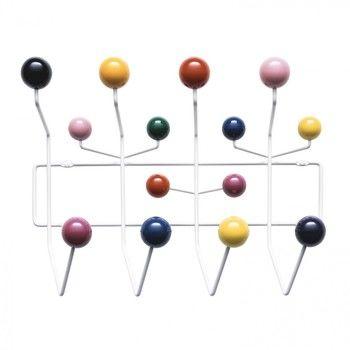 Vitra - Hang it all Garderobe - mehrfarbig/Holz lackiert/Gestell Metall/Gestell weiß