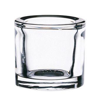 iittala - Kivi Teelichthalter 60mm - transparent/transparent