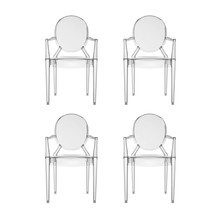 Kartell - Louis Ghost - Kit de 4 fauteuils
