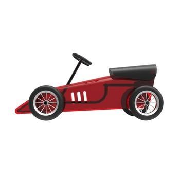 Kartell - Discovolante Spielzeugauto - rot/schwarz/transparent