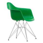 Vitra - Eames Plastic Armchair DAR verchroomd