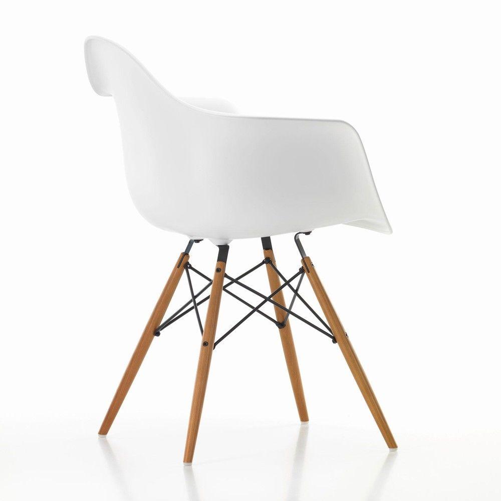 eames plastic armchair daw ash vitra. Black Bedroom Furniture Sets. Home Design Ideas