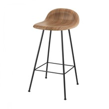 Gubi - Tabouret de bar 3D Counter Stool quatre pieds