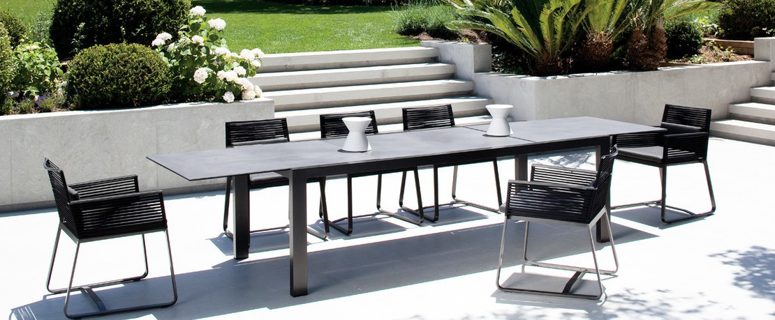 Gartentisch Design.Extendable Garden Tables Design Shop Ambientedirect Com