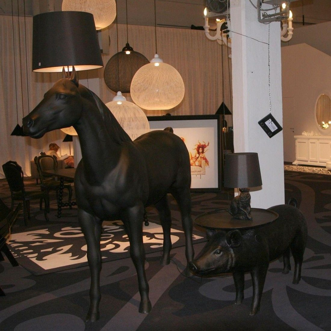 moooi horse lamp floor lamp  moooi  ambientedirectcom - moooi  moooi horse lamp floor lamp