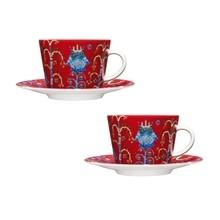 iittala - Taika Kaffeetassen mit Unterteller 2er Set