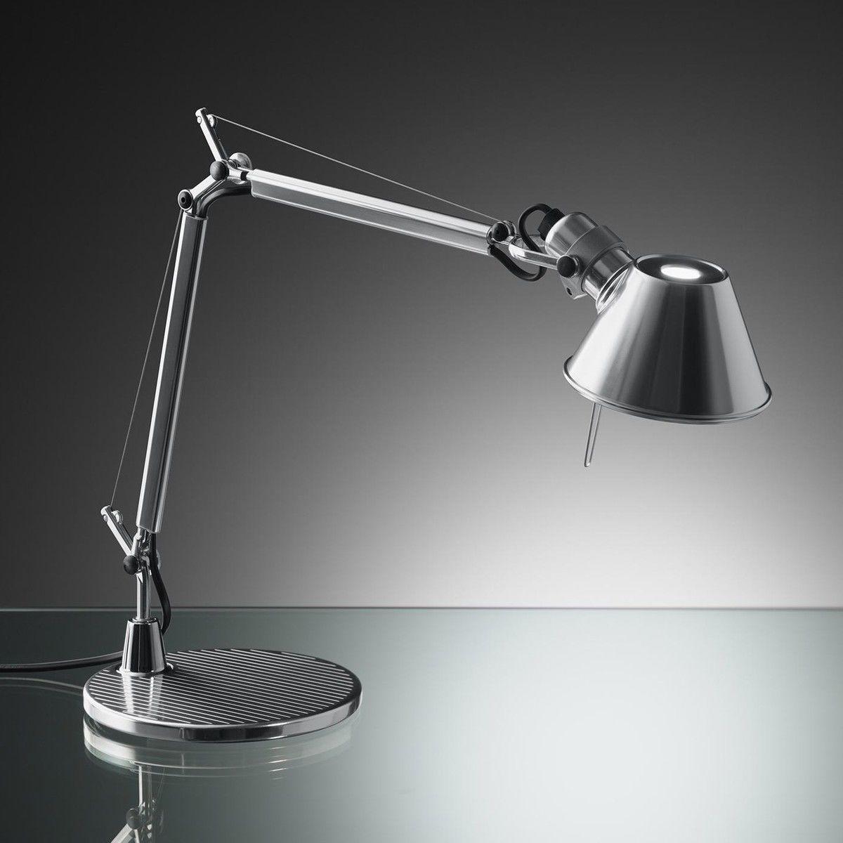 Tolomeo micro chrom lampe de bureau artemide - Lampe de bureau artemide ...